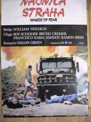 Slikovni rezultat za nadnica straha plakat